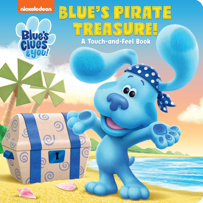 Cover of Blue\'s Pirate Treasure! (Blue\'s Clues & You)