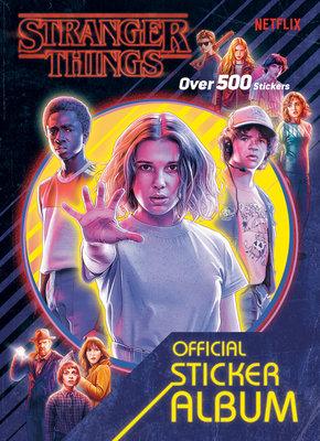Cover of Stranger Things: The Official Sticker Album (Stranger Things)