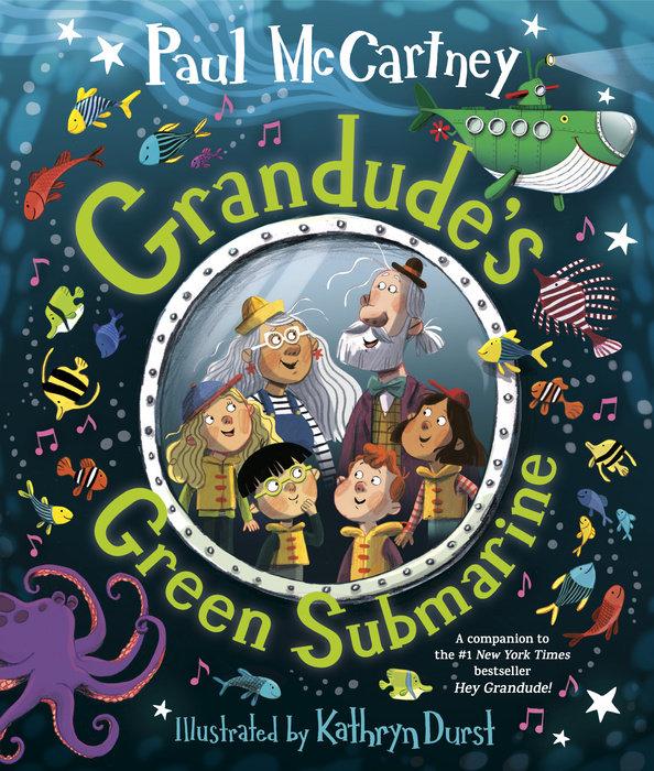 Cover of Grandude\'s Green Submarine