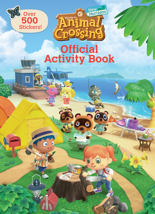 Cover of Animal Crossing New Horizons Official Activity Book (Nintendo)