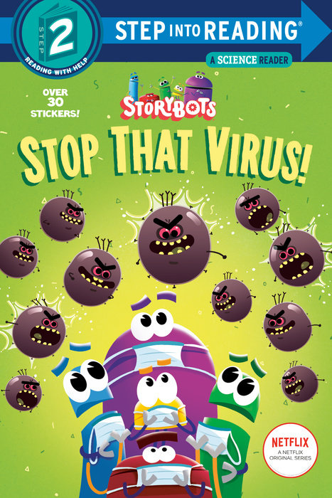 Cover of Stop That Virus! (StoryBots)