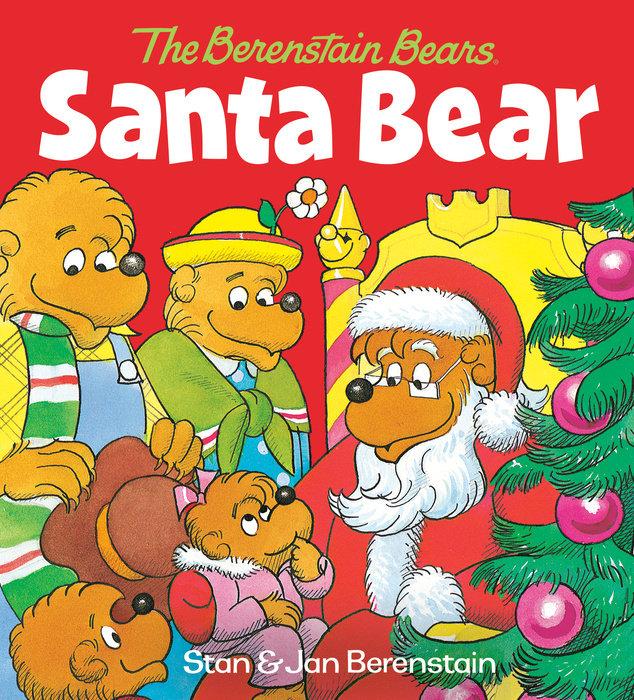 Cover of Santa Bear (The Berenstain Bears)