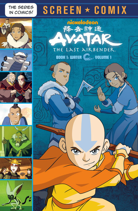 Cover of Avatar: The Last Airbender: Volume 1 (Avatar: The Last Airbender)