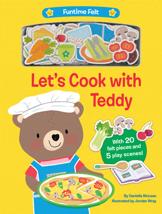 Cover of Let\'s Cook with Teddy