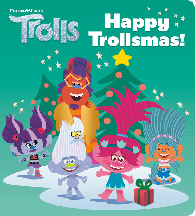 Cover of Happy Trollsmas! (DreamWorks Trolls)