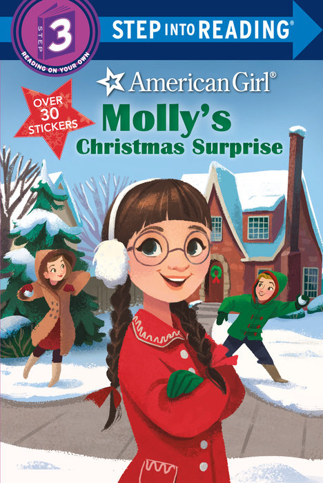 Cover of Molly\'s Christmas Surprise (American Girl)