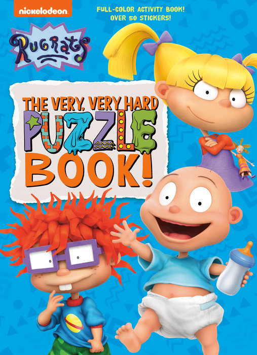 Cover of The Very, Very Hard Puzzle Book! (Rugrats)