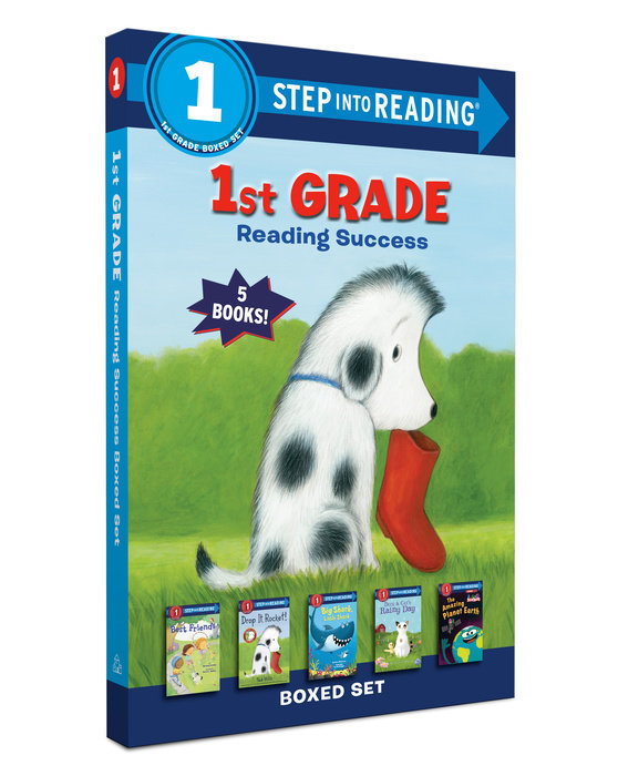Cover of 1st Grade Reading Success Boxed Set