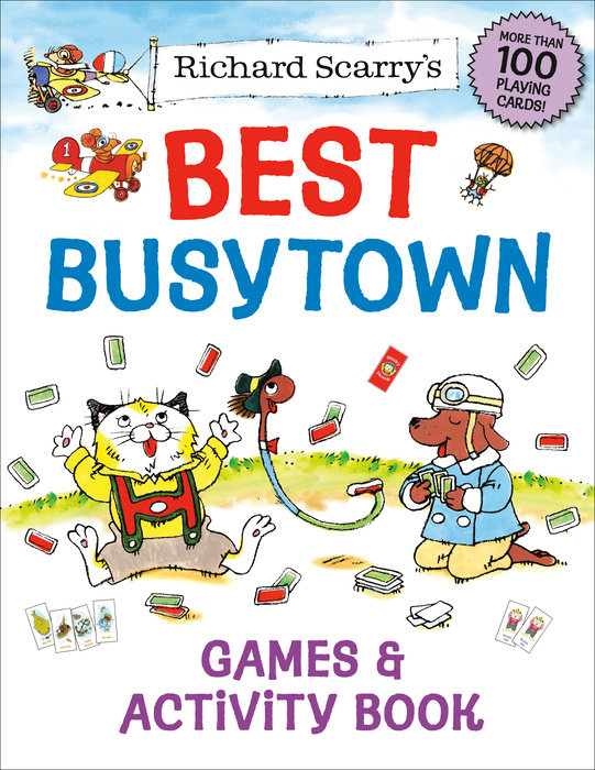 Cover of Richard Scarry\'s Best Busytown Games & Activity Book