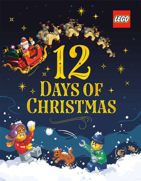 Cover of 12 Days of Christmas (LEGO)