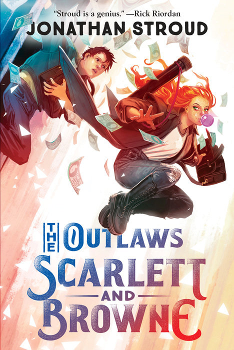 Cover of The Outlaws Scarlett and Browne