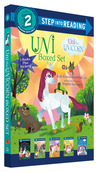 Cover of Uni the Unicorn Step into Reading Boxed Set
