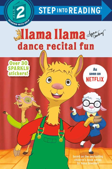 Cover of Llama Llama Dance Recital Fun