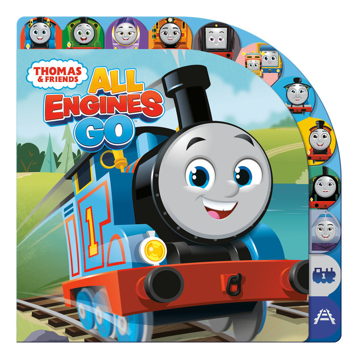 Cover of All Engines Go (Thomas & Friends)