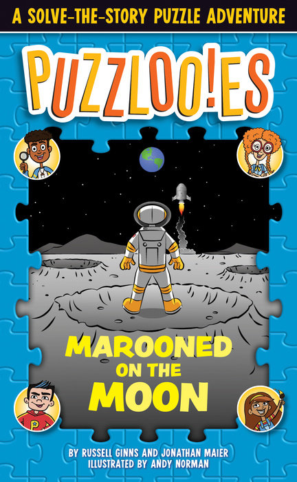 Cover of Puzzlooies! Marooned on the Moon