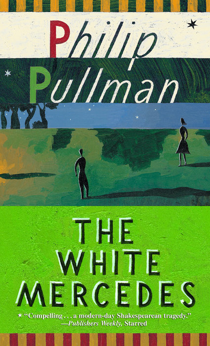 Book cover for THE WHITE MERCEDES