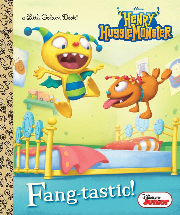 Cover of Fang-tastic! (Disney Junior: Henry Hugglemonster)