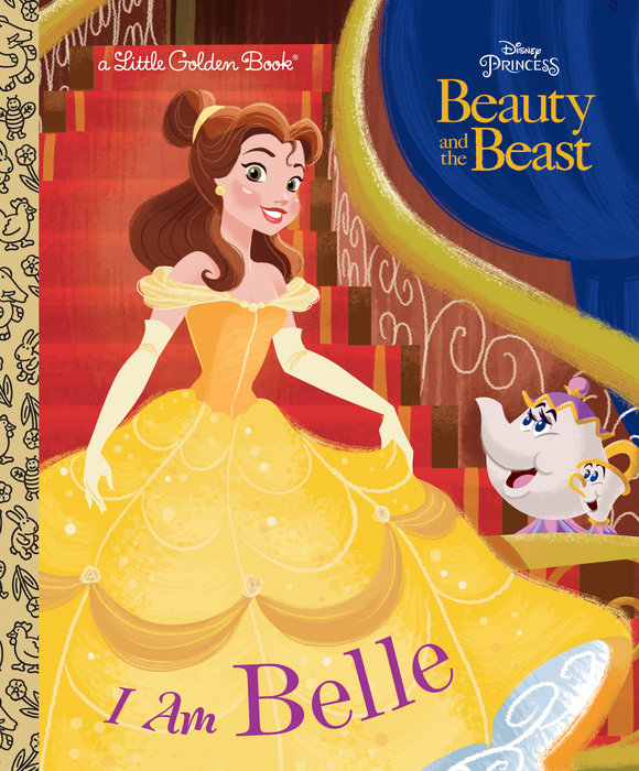 Cover of I Am Belle (Disney Beauty and the Beast)