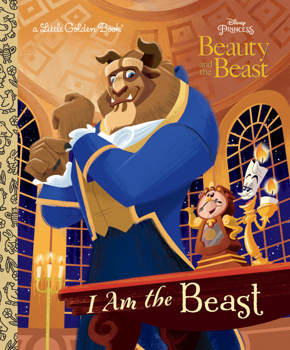 Cover of I Am the Beast (Disney Beauty and the Beast)
