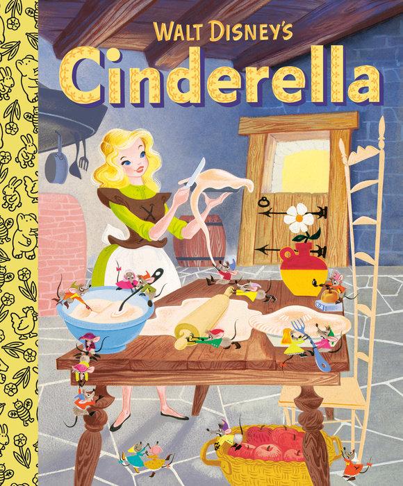 Book cover for Walt Disney\'s Cinderella Little Golden Board Book (Disney Classic)