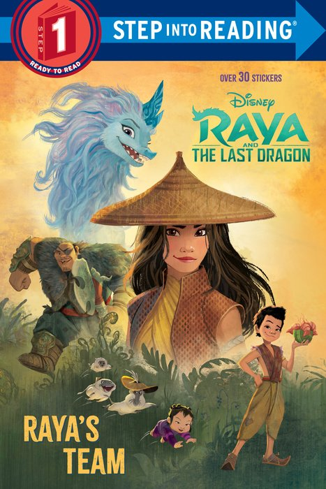 Cover of Raya\'s Team (Disney Raya and the Last Dragon)
