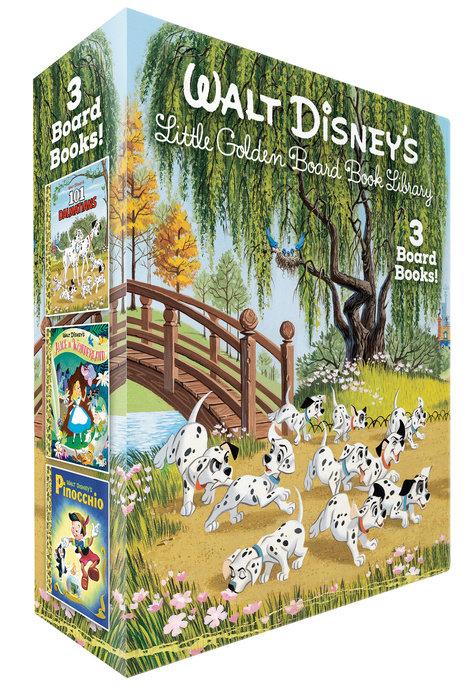 Cover of Walt Disney\'s Little Golden Board Book Library (Disney Classic)
