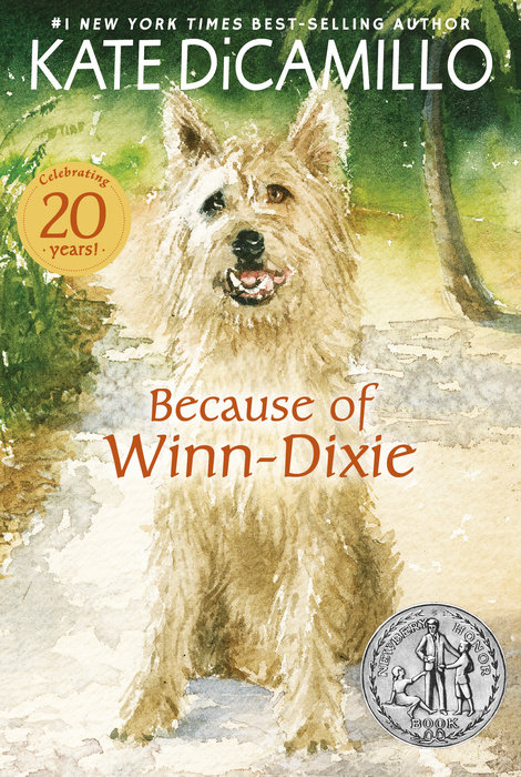 Because of Winn-Dixie by Kate DiCamillo & Kate DiCamillo