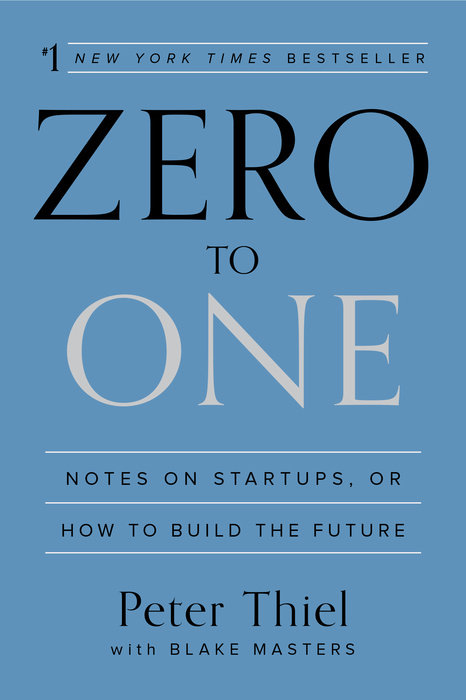 Zero To One Peter Thiel Ebook
