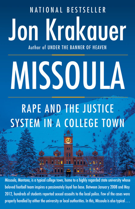 Missoula by Jon Krakauer