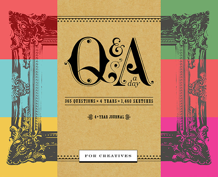 Q&A a Day for Creatives by Potter Gift