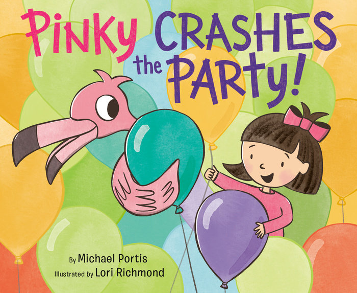 Cover of Pinky Crashes the Party!