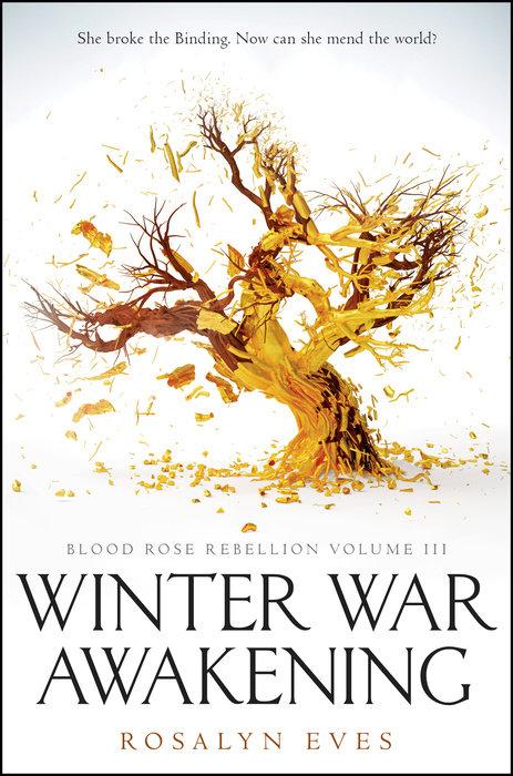 Cover of Winter War Awakening (Blood Rose Rebellion, Book 3)