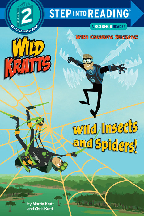 Cover of Wild Insects and Spiders! (Wild Kratts)