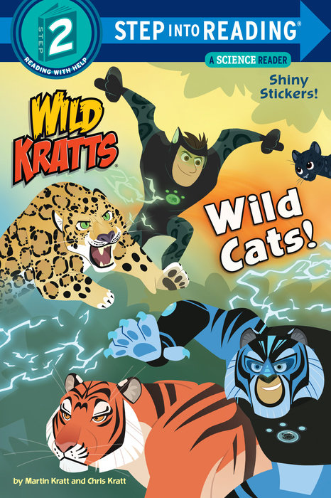 Cover of Wild Cats! (Wild Kratts)