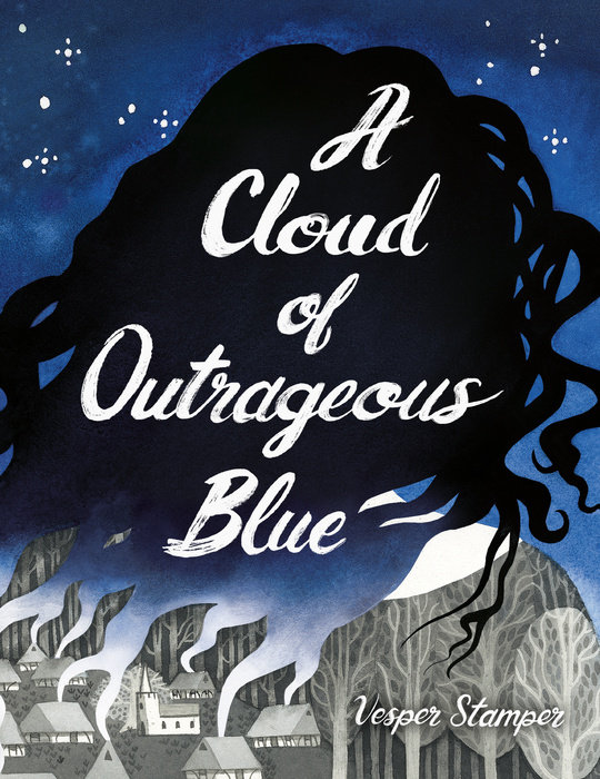 Cover of A Cloud of Outrageous Blue