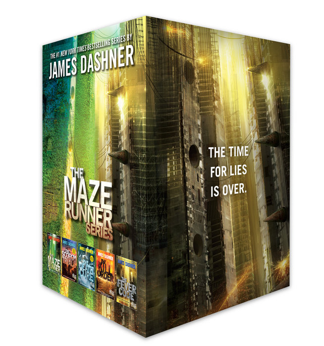 Cover of The Maze Runner Series Complete Collection Boxed Set (5-Book)