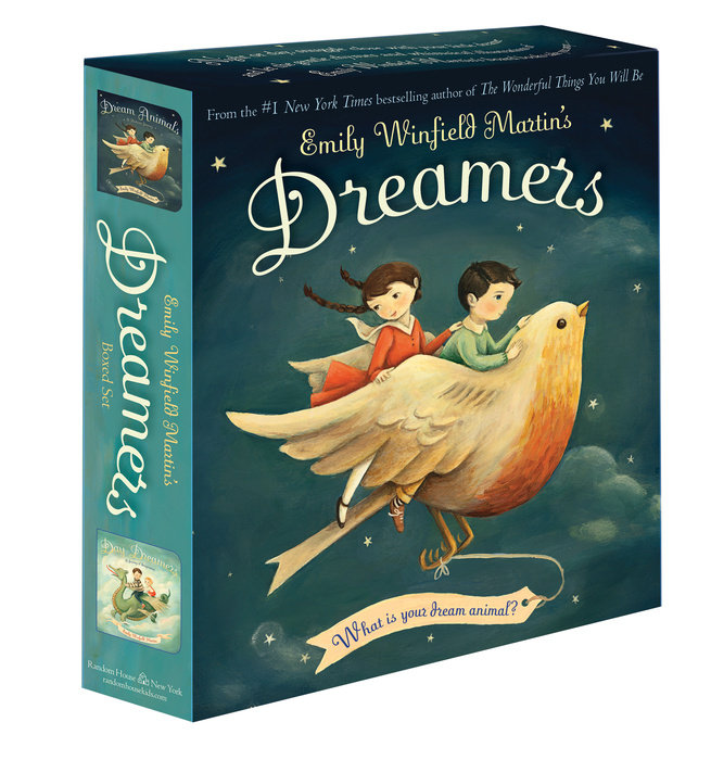 Book cover for Emily Winfield Martin\'s Dreamers Board Boxed Set