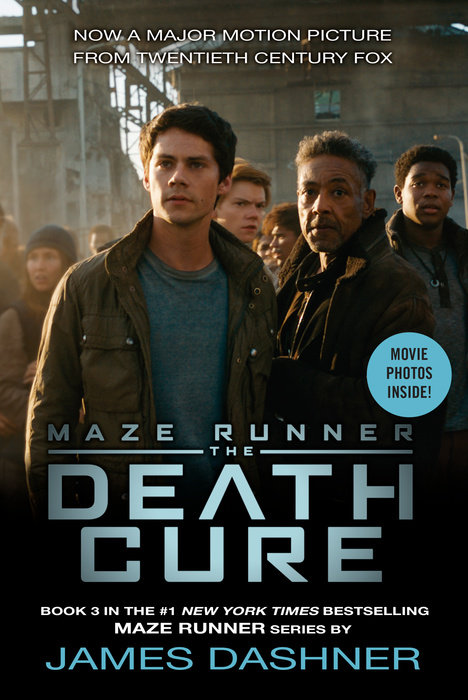 Cover of The Death Cure Movie Tie-in Edition (Maze Runner, Book Three)
