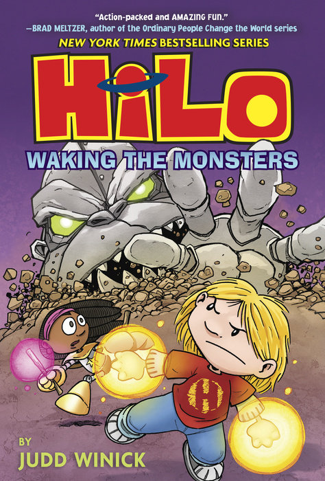 Cover of Hilo Book 4: Waking the Monsters