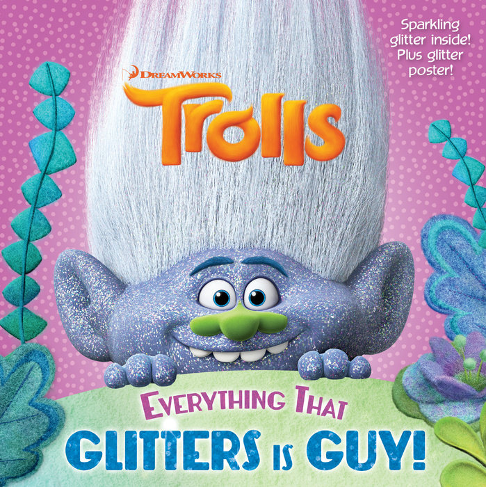 Cover of Everything That Glitters is Guy! (DreamWorks Trolls)
