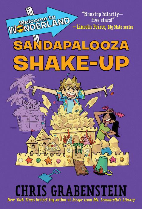 Cover of Welcome to Wonderland #3: Sandapalooza Shake-Up