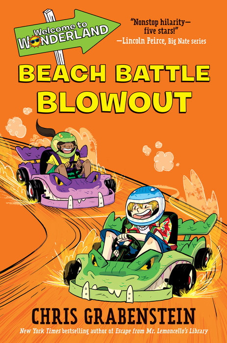 Cover of Welcome to Wonderland #4: Beach Battle Blowout