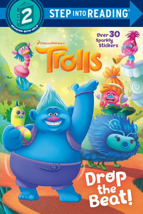 Cover of Drop the Beat! (DreamWorks Trolls)