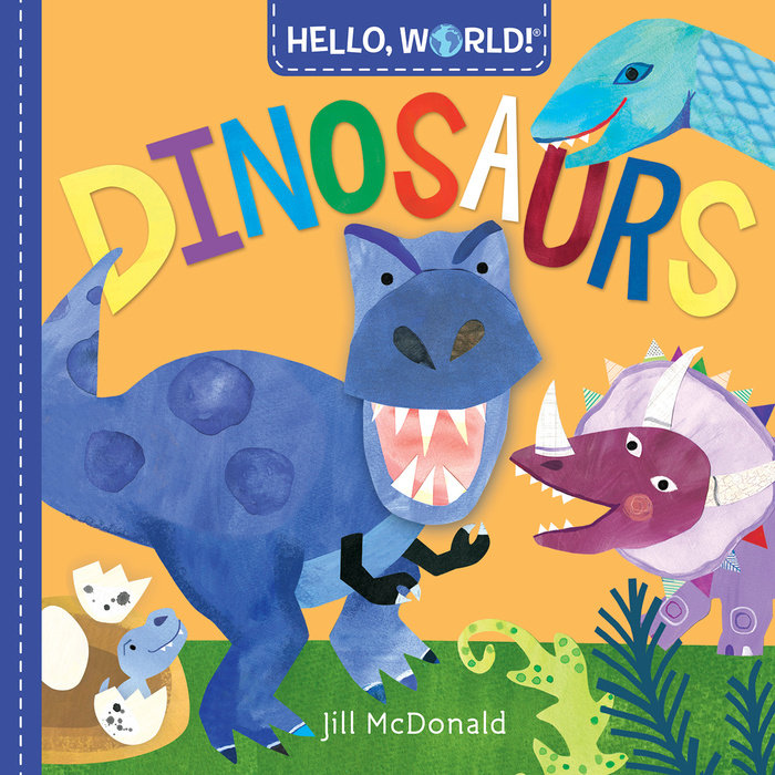 Book cover for Hello, World! Dinosaurs