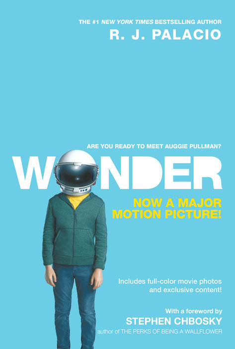 Book cover for Wonder Movie Tie-In Edition