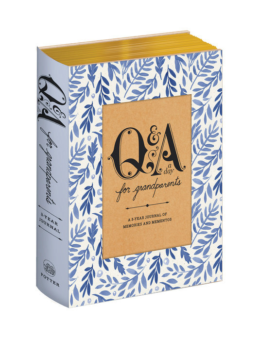 Q&A a Day for Grandparents by Potter Gift