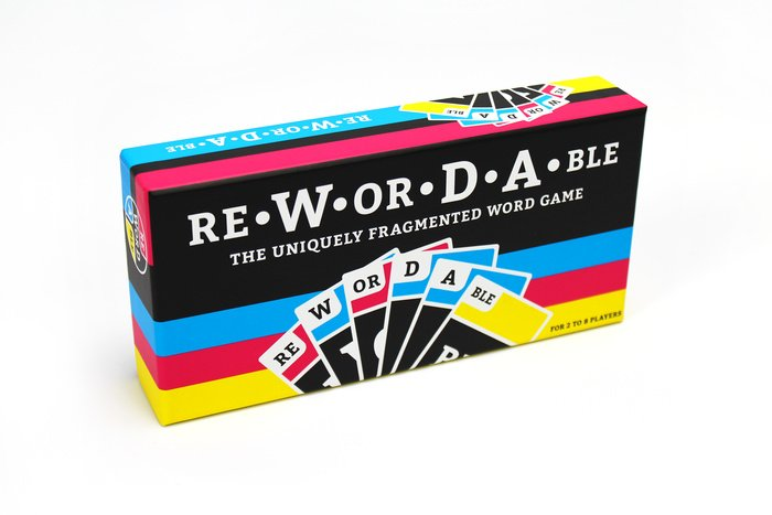 Rewordable Card Game by Adam Simon & Allison Parrish & Tim Szetela