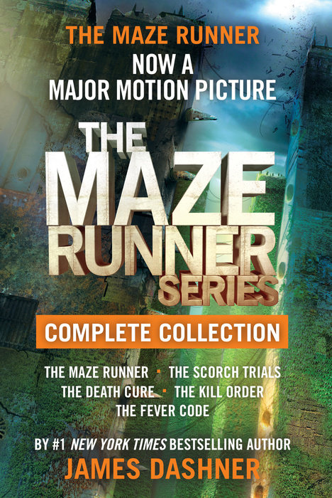 Cover of The Maze Runner Series Complete Collection (Maze Runner)