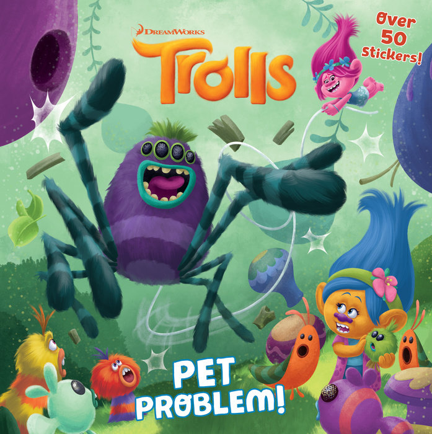 Cover of Pet Problem! (DreamWorks Trolls)