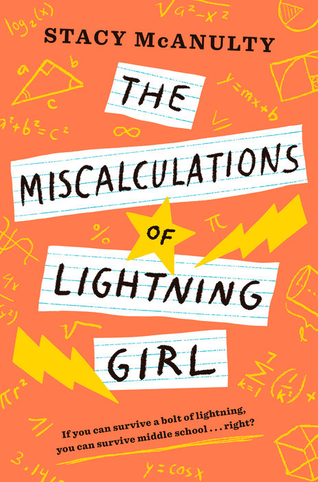 Book cover for The Miscalculations of Lightning Girl